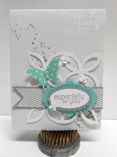 Stampin' Up! Card by Georgia: Gorgeous Grunge