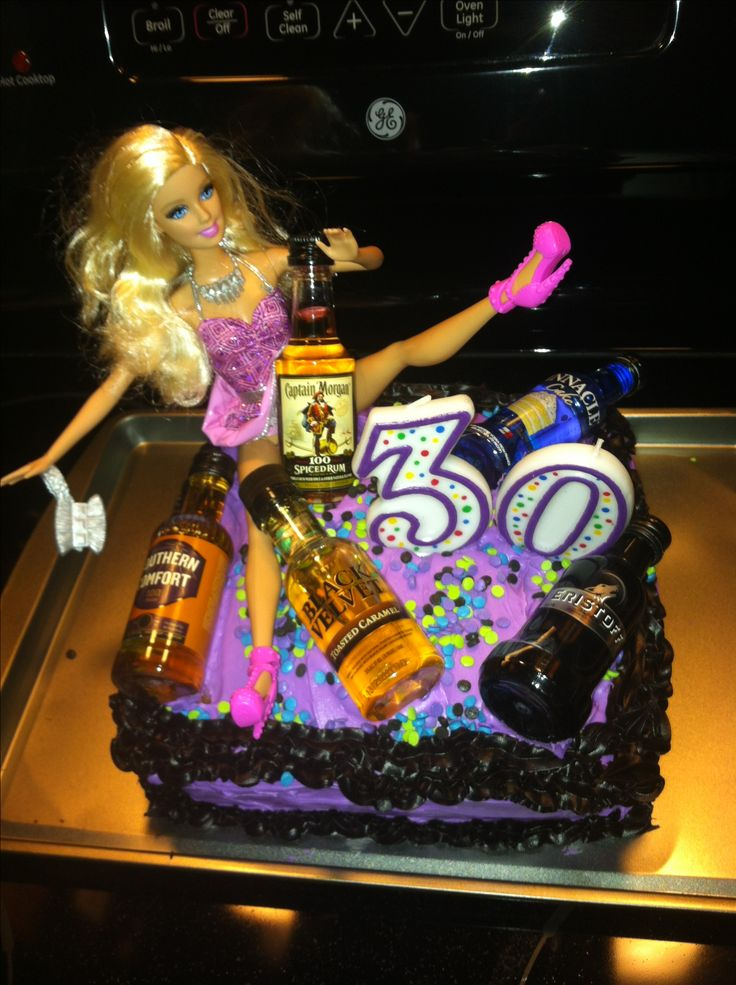 #foxy Drunk Barbie cake. Yup I made that!!!