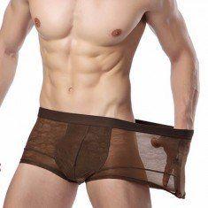 Sexy Mens U Convex Elastic Comfortable Fabric Breathable Briefs