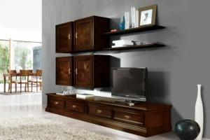 Мебель для гостиной Кишинев, современные гостиные на заказ, стенки классические и неоклассические | Ergoform-Lux