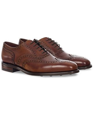 Loake 1880 MTO Buckingham Brogue Single Dainite Brown