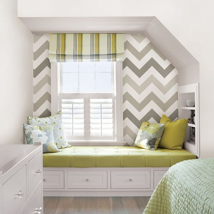 Taupe Zig Zag Wallpaper Roll