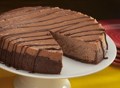 Celebrate with HERSHEY'S - easter Chocolate Cheesecake