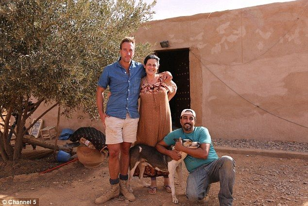 Ben Fogle joined the couple for a week in their Moroccan mud hut to learn about what they ...