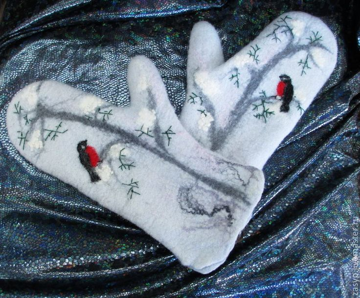 Cute felted  mitts?