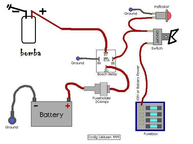 Simple 12v Horn Wiring Diagram Solucionado Busco Sensor Switch Para Temperatura De