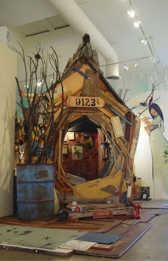 ERIK OTTO STUDIOS - cool reading space. The kid in me is screaming AWESOME!