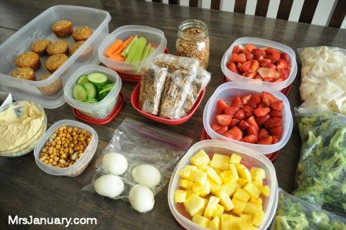 food for the week healthy planning delicious gotta