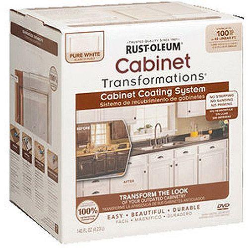 Rustoleum For Kitchen Cabinets: Rust-Oleum Cabinet Transformations Premix Kit