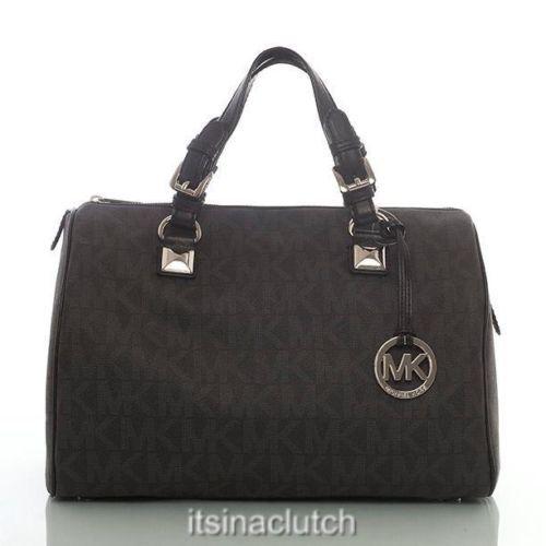 Classic Doctors Bag Nwt Auth Michael Kors Monogram Black Large Grayson Satchel Handbags In 2018 Pinterest Bags Fashion And