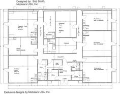 daycare center blueprints | Floor Plan for MindExpander ™ Day Care Center