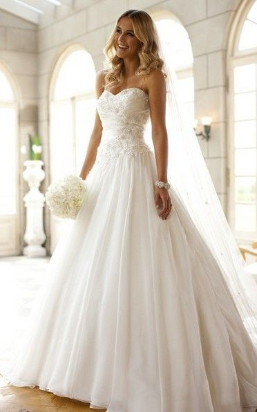 lace wedding dress lace wedding dress lace wedding dress... too much poof for me though. Check out Dieting Digest