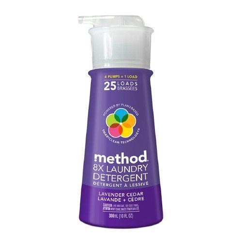 method Laundry Detergent, 25 Loads, Lavender Cedar 10 fl oz (300 ml)