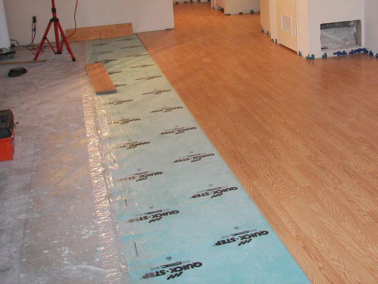 Hardwood Flooring On Concrete Basement
