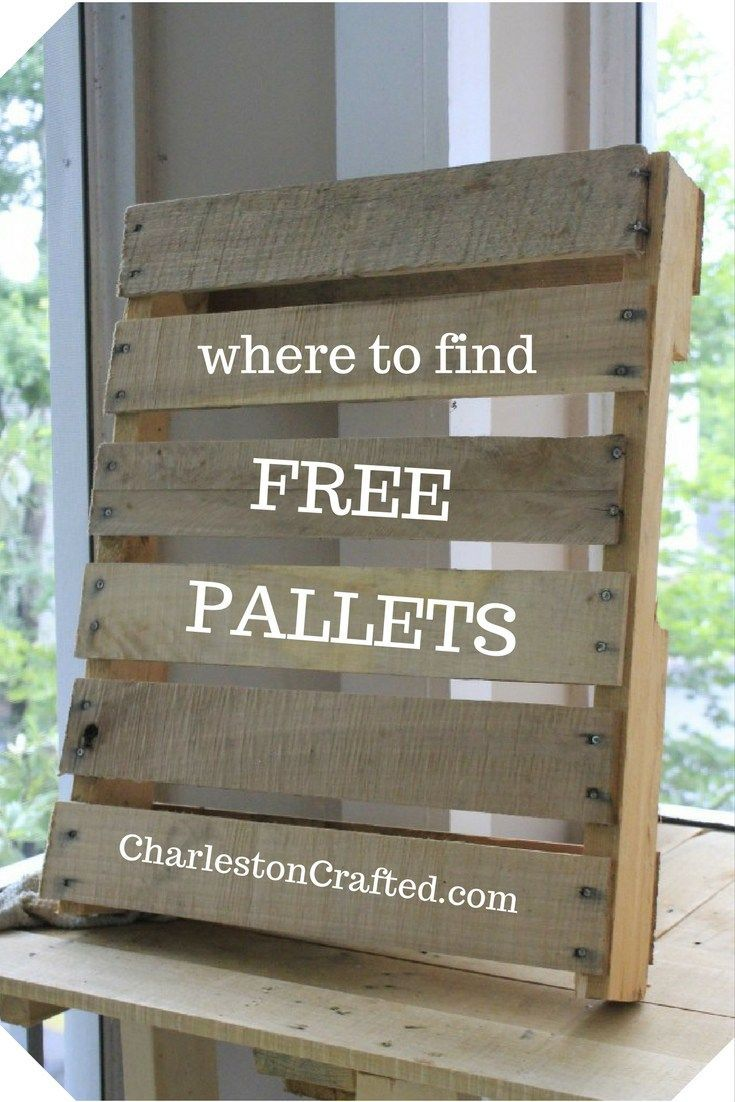Where to Get Free Pallet Wood (With images) | Free pallets ...