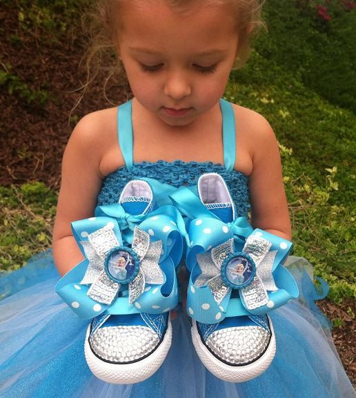 FROZEN SHOES  Elsa and Ana  Frozen Party  Elsa by SparkleToes3, $74.99