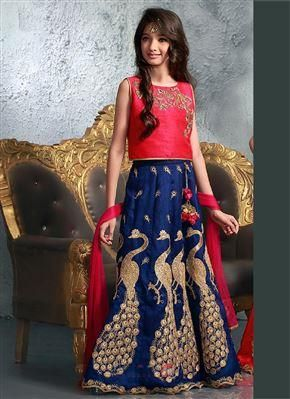 8cf8de03e image of Party Gown for Kids - Designer Kids Gown At Best Rate From  Sareeswholesale Online Shopping In Uk