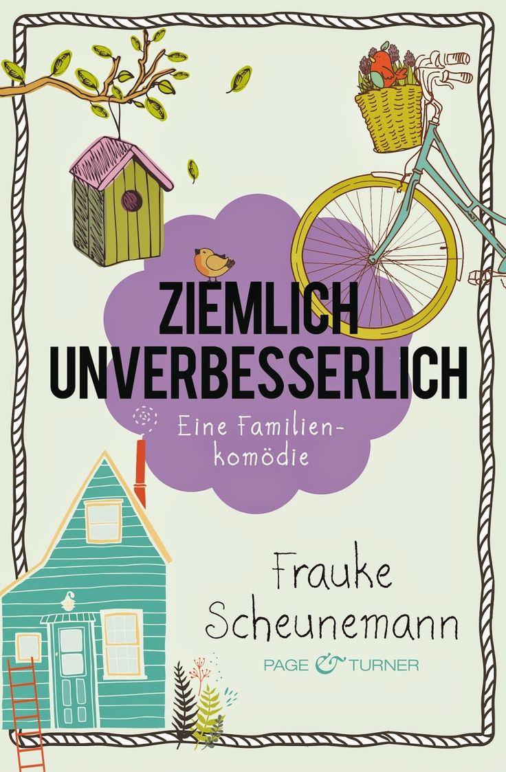"""Direkt zum Wochenanfang habe ich eine ganz tolle Buchvorstellung für euch. Ich habe """"Ziemlich Unverbesserlich"""" von Frauke Scheunemann gelesen und rezensiert. Mein Fazit: """"Ziemlich Unverbesserlich"""" ist der neue Serienauftakt von Frauke Scheunemann und wirft die Leser in ein absolutes Wohlfühlbuch, was spannend geschrieben ist und zum schmunzeln einlädt. ~ chaotisch ~ turbulent ~ humorvoll = absolute Leseempfehlung! Zur Rezension: http://katis-buecherwelt.blogspot.de/…/rezension-ziemlich-u……"""