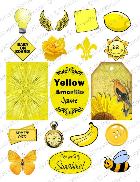 YELLOW STUFF - Things that are Yellow