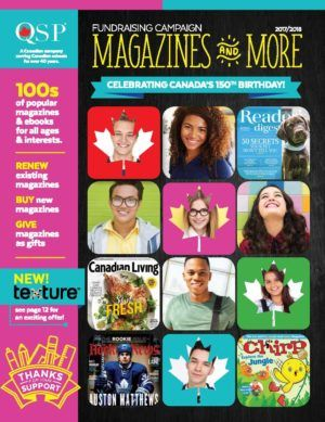 Magazine Fundraiser
