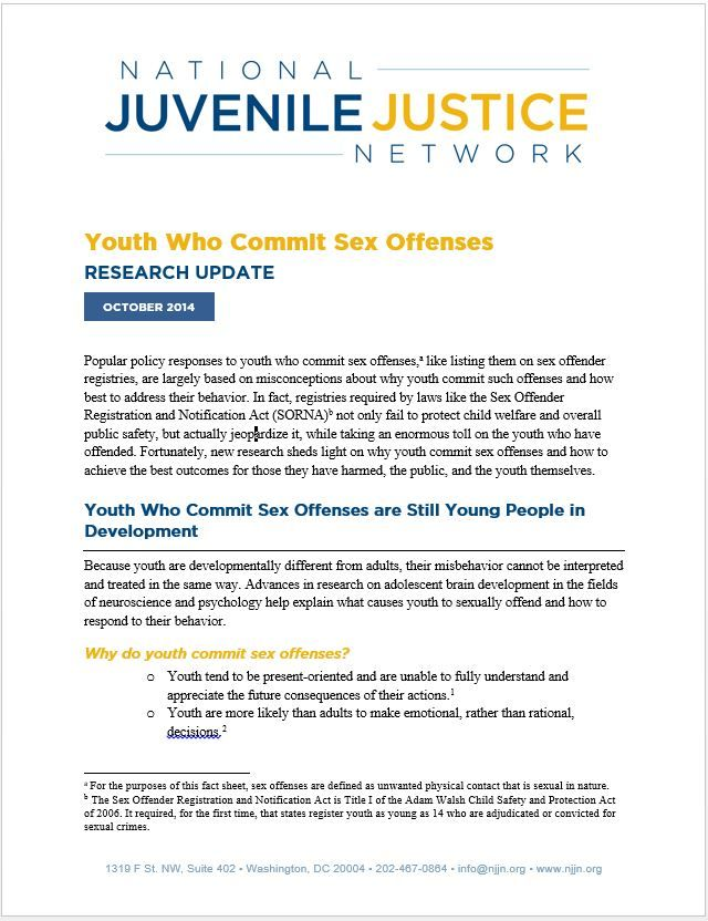 Reducing Recidivism and Improving Outcomes for Youth in the Juvenile Justice System