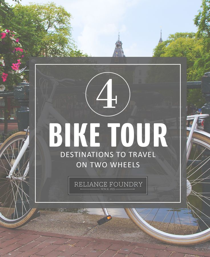 Would you prefer brewery tours, wildlife sightings, nightlife, or hot springs? Whatever your tastes, bike tourism is gaining momentum, and there's something for everyone. Check out our list of unique bike tour destinations on our blog!