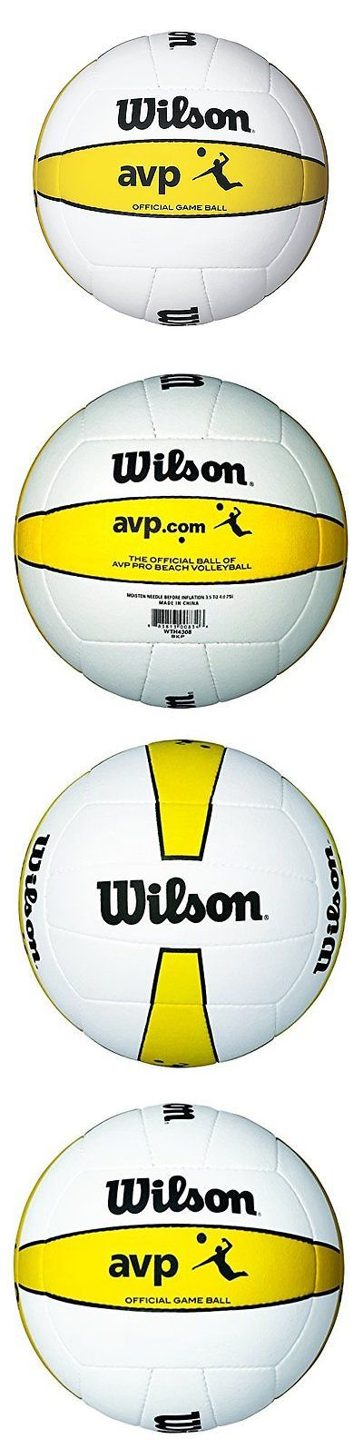 Volleyballs 159132: Wilson Official Avp Outdoor Game Volleyball -> BUY IT NOW ONLY: $52.3 on eBay!