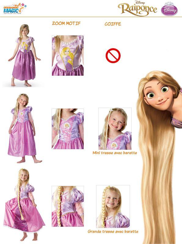 Les 13 meilleures images du tableau d guisement raiponce sur pinterest deguisement raiponce - Raiponce petite ...