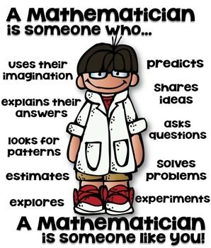 A mathematician is someone who...A mathematician is someone like you!