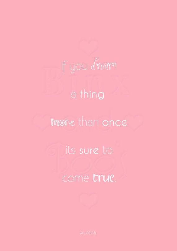 Disney Princess Word Art. Aurora Sleeping Beauty Quote ...