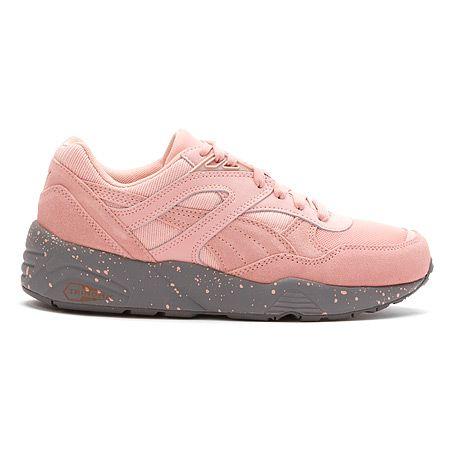 PUMA R698 Winterized Sneaker | Women's - Coral Cloud Pink/Steel Grey