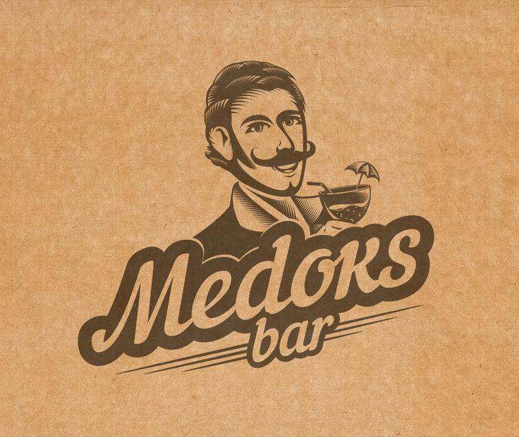 Logo Medoks bar on Behance