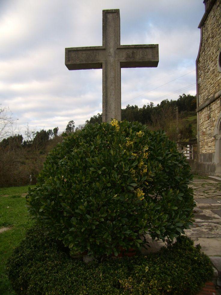 Iglesia de Solís en el concejo de  Corvera