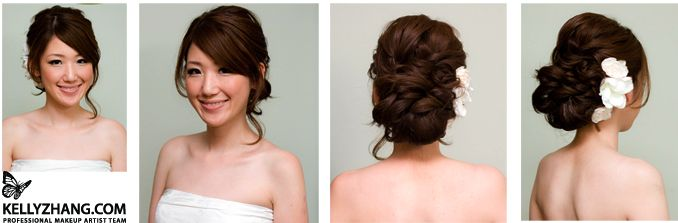 Hair's the Deal :  wedding bloomington hair Picture PictureHair Ideas, Hairstyles, Bridesmaid Hair, Makeup, Wedding Updo, Wedding Hairs, Bangs, Hair Style, Hair Updo