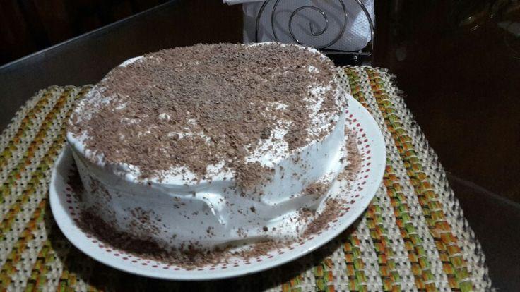 Genovesa con chocolate en La Ventana Crepes y Café en Málaga
