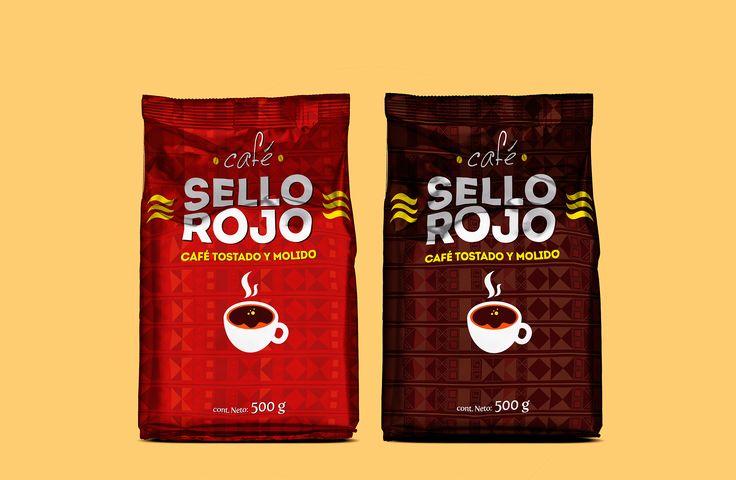 Propuesta re-diseño café sello rojo