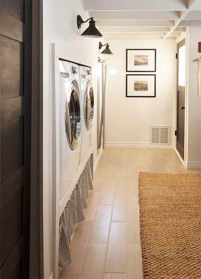 Laundry and mudroom stuff a collection of home decor for Basement mudroom ideas
