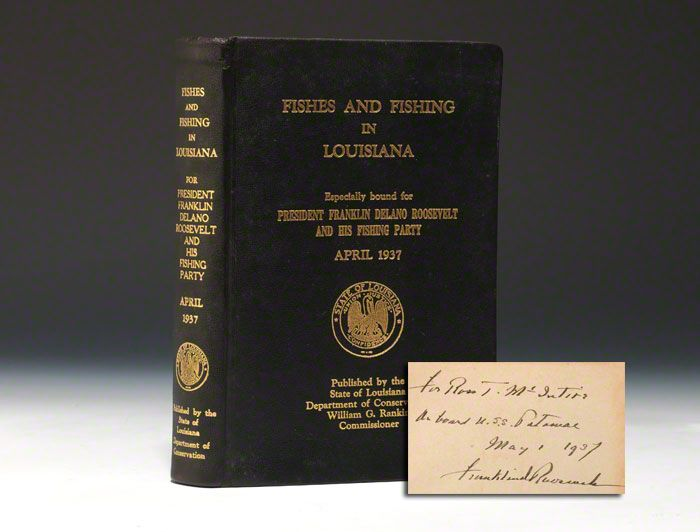 Fishes and Fishing in Louisiana Bauman Rare Books