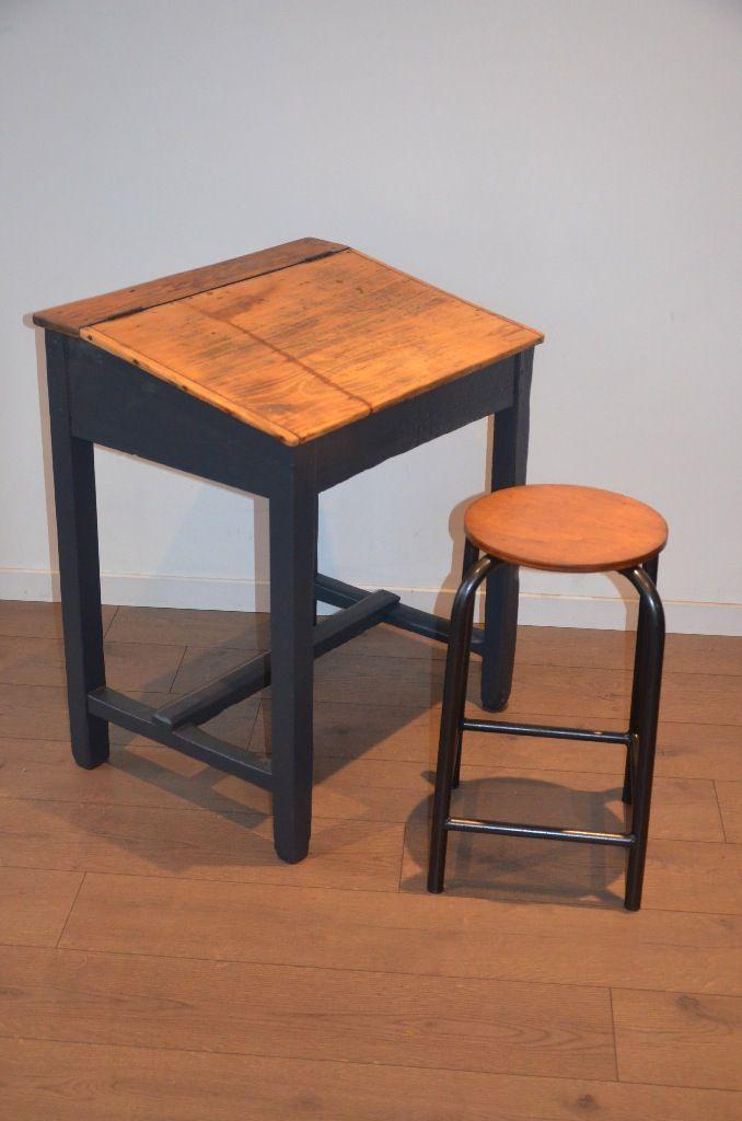 les 25 meilleures id es de la cat gorie bureau ecolier ancien sur pinterest bureau d colier. Black Bedroom Furniture Sets. Home Design Ideas