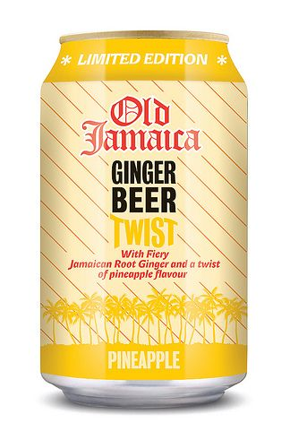 Old Jamaica Ginger Beer Twist Pineapple