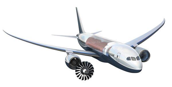 Boeing 787 Dreamliner cut away