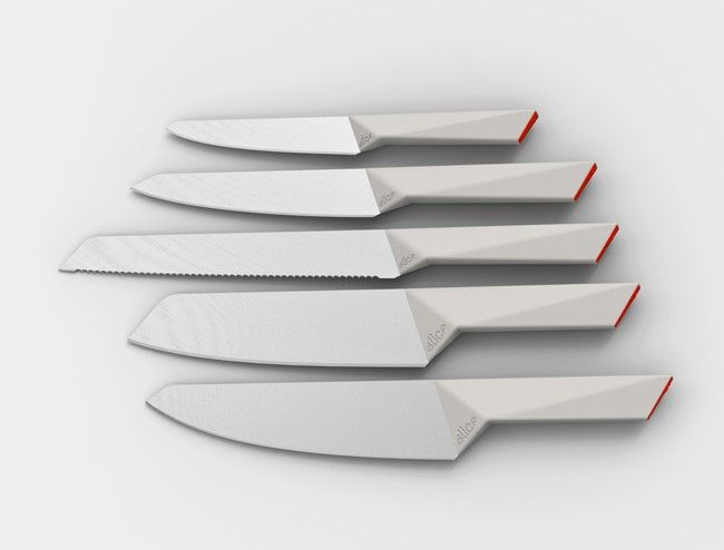 Facet for Slice - ceramic knives | cutlery . Besteck . couvert | Design: Herbst Produkt |