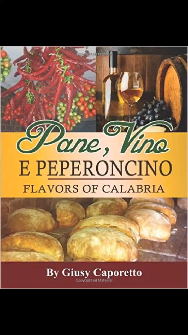 Pane,Vino E PEPERONCINO Flavours of Calabria get your copy now, to find  your nearest distributor go to www.giusycaporetto.com or go on Amazon.com - Amazon.it  a perfect present for a loved one who loves culture and food Made with Flipagram - https://flipagram.com/f/10cI5ZLC90I