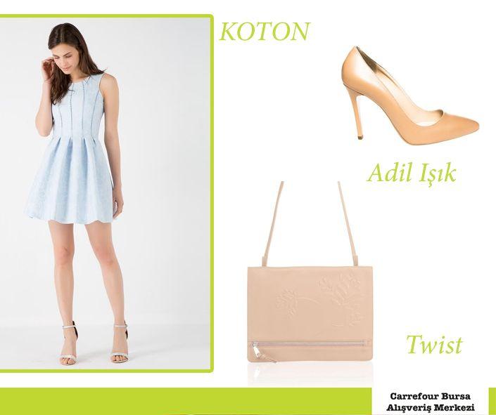 #Koton #AdilIşık #ADL #Twist #BlueDress #Sweet