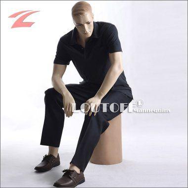Loutoff Neuartige männliche Schaufensterpuppe – sitzend GZM1