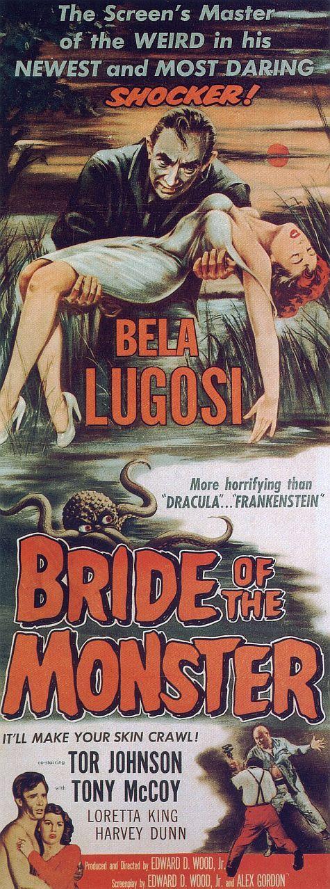 Ed Wood's BRIDE OF THE MONSTER (1955) starring Bela Lugosi