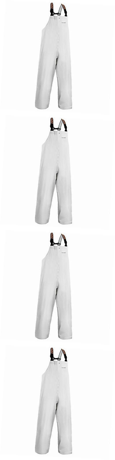 Jacket and Pants Sets 179981: Clipper Men S Bib Pant, White, Medium -> BUY IT NOW ONLY: $123.14 on eBay!