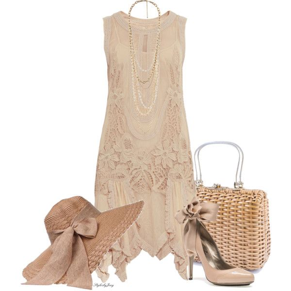 """Summer Lace"" by stylesbyjoey on Polyvore"