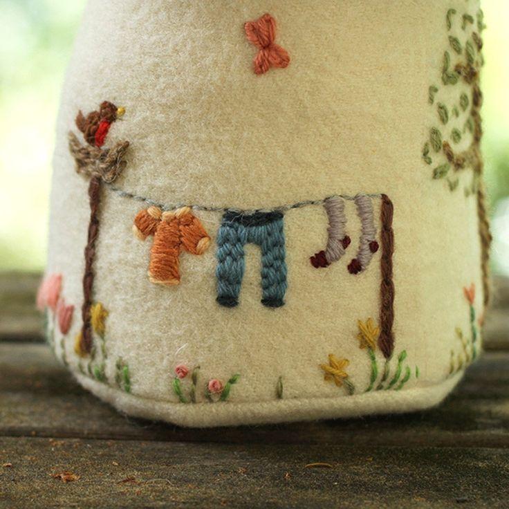 Toadstool Village Sewing Pattern