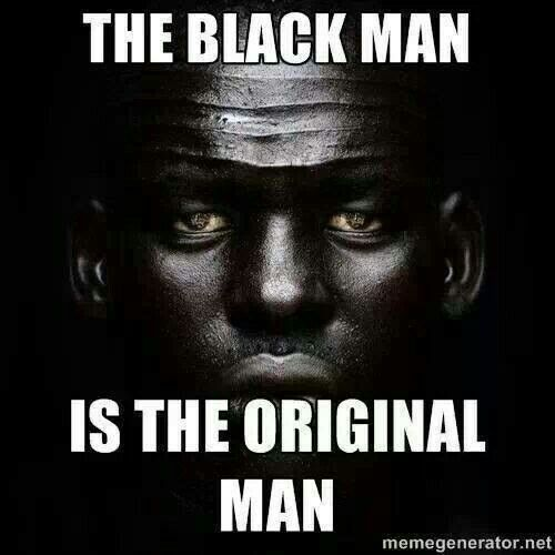 Image result for Black Man Is God Universe